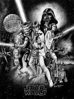 Star Wars by Matt McManis DeviantArt